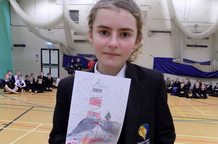 Congratulations to our Christmas Card Competition Winner!
